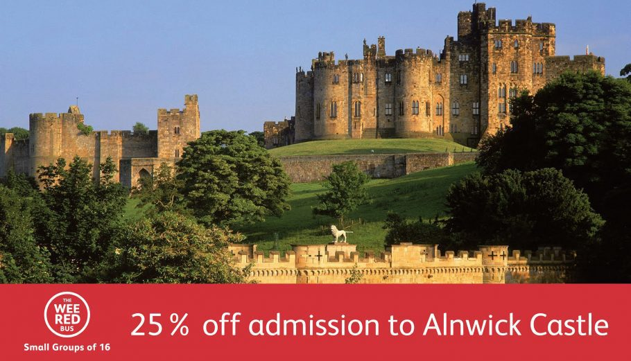 Alnwick Castle Discount Advert