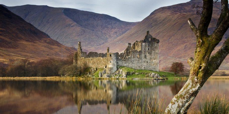 Kilchurn Castle On Loch Awe
