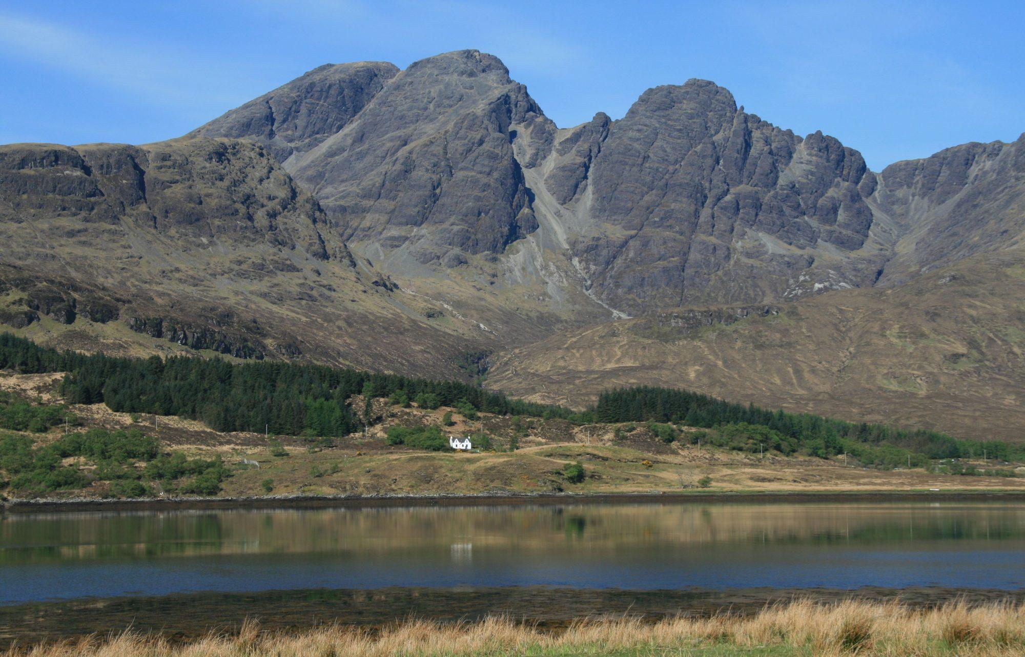 Mountains and a lake - Heart of Scotland Tours