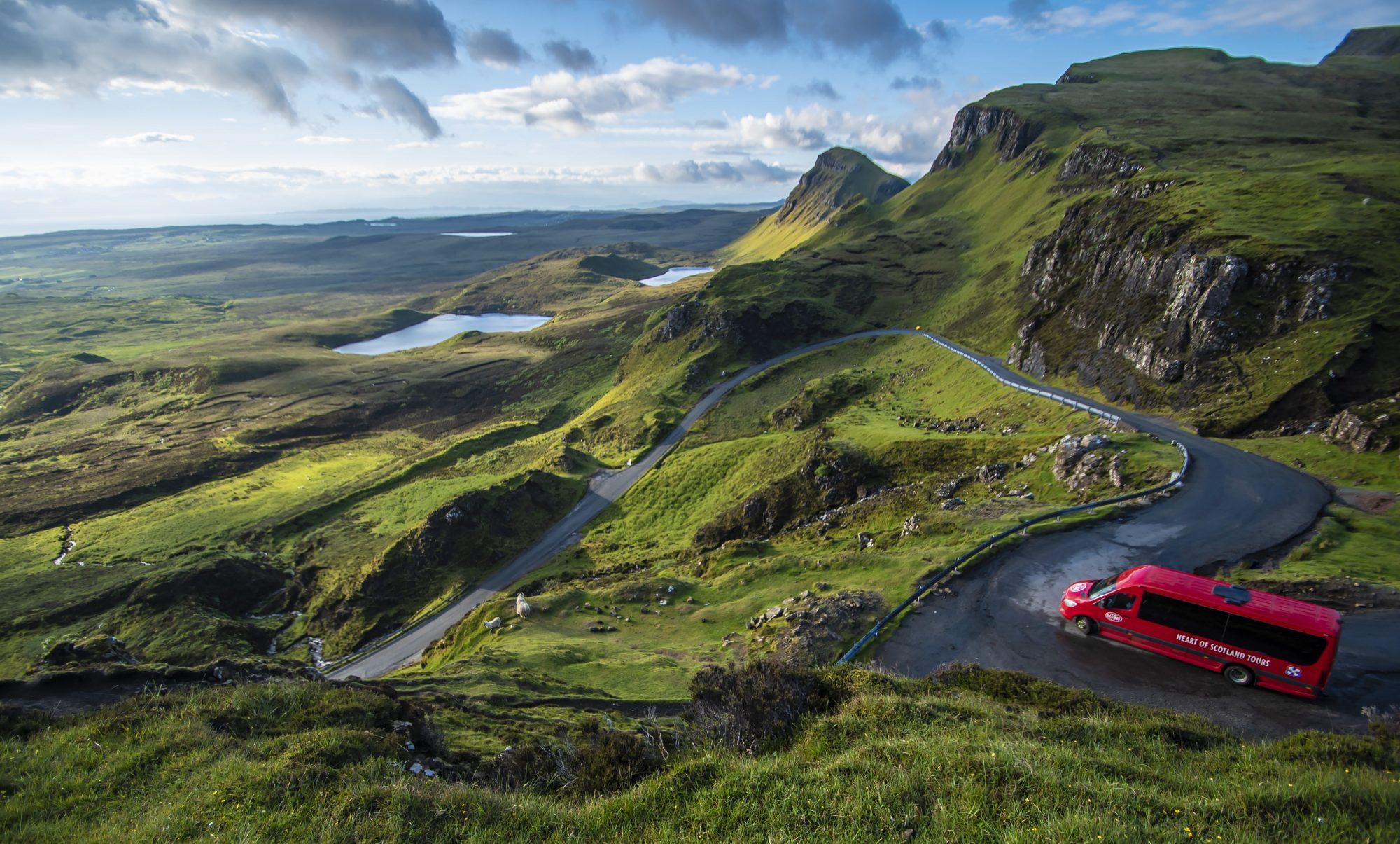 Mountains VIew - Heart of Scotland Tours