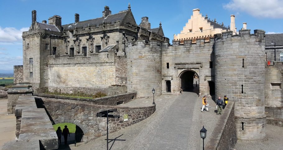 Stirling Castle 4 Scaled Aspect Ratio X