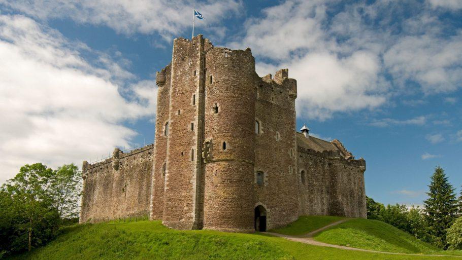 Doune Castle Alamy Scaled Aspect Ratio X