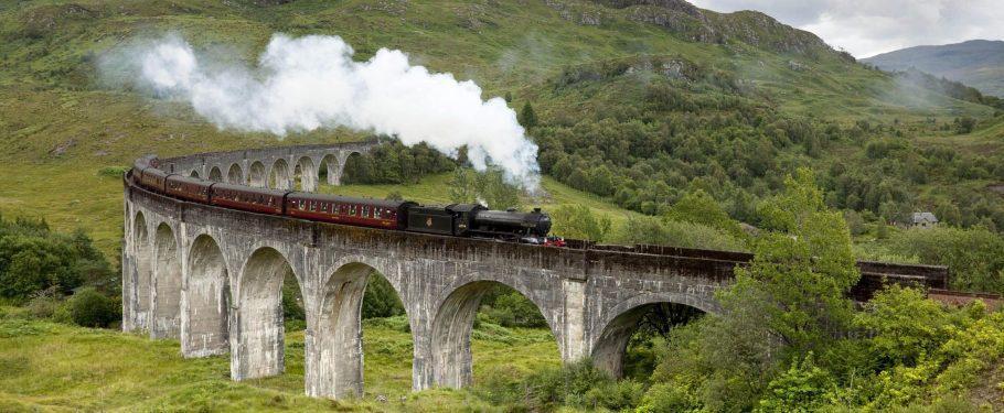 Jacobite Steam Train Aspect Ratio X