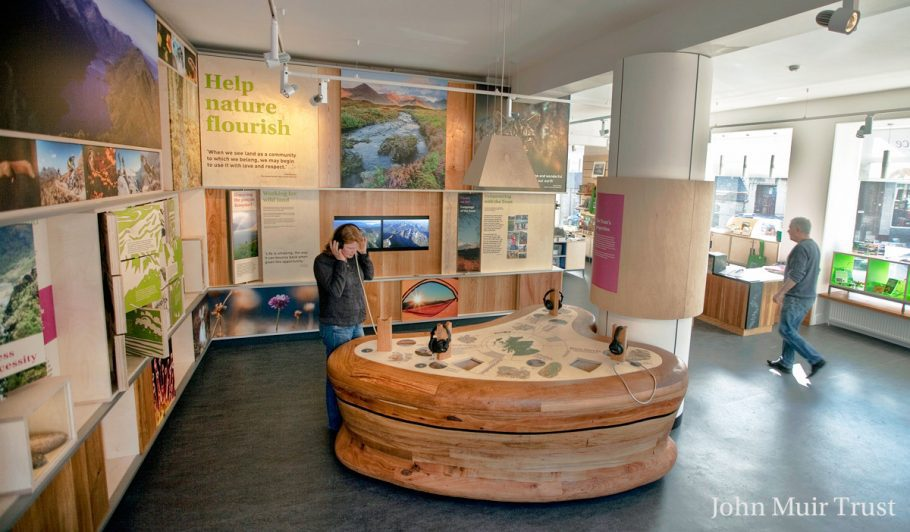 Wild Space Visitor Centre And Shop In Pitlochry